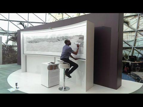 Stephen Wiltshire's Istanbul Panorama