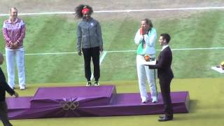 Serena Olympic dance + Gold