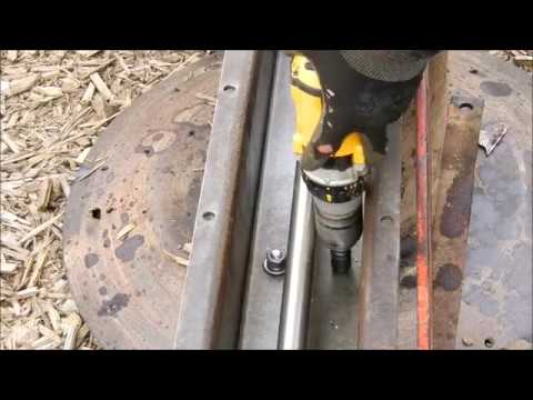 Changing The Gear Oil on a Drum Mower
