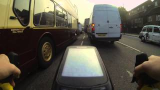 Cycling in London - the near misses