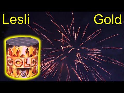 LESLI GOLD | 10 Schuss Batterie | Preiskracher für 2,50€ !