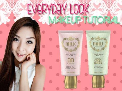 How To : แต่งหน้าใสๆ Everyday Look Makeup Tutorial (Mille Beaute)