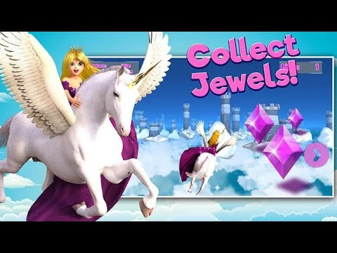 Princess Unicorn Sky World Run Android Gameplay Movie Apps Free Best Top Film Video Game Teenagers Youtube