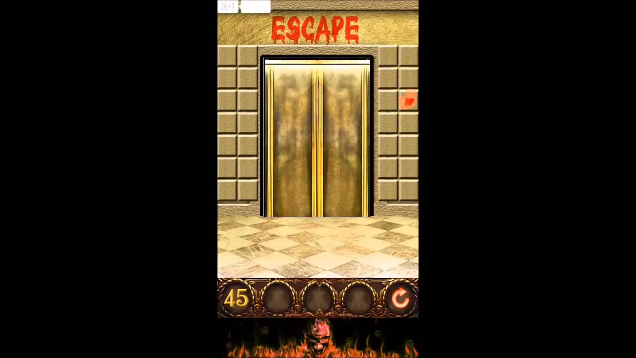 100 Doors Floors Escape Level 45 Walkthrough Home Plan