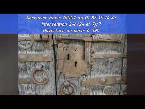 L'équipe Serrurier Paris 75007