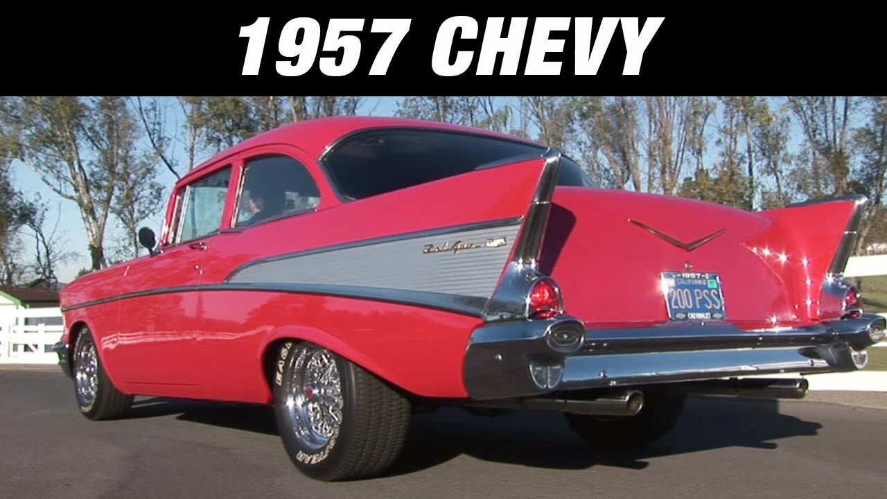1957 Chevy With Flowmaster Exhaust 817174