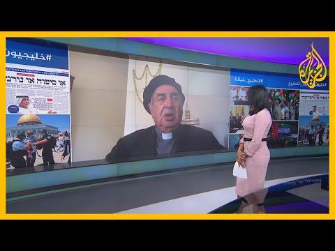 شاهد | رسالة شديدة اللهجة وجهها رجل الدين المسيحي الفلسطيني الأب مناويل مسلّم للمطبعين