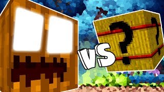 INCRIVEL ABOBORA MONSTRO VS. LUCKY BLOCK WHEAT (MINECRAFT LUCKY BLOCK CHALLENGE)