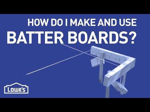 How Do I Make & Use Batter Boards? | DIY Basics