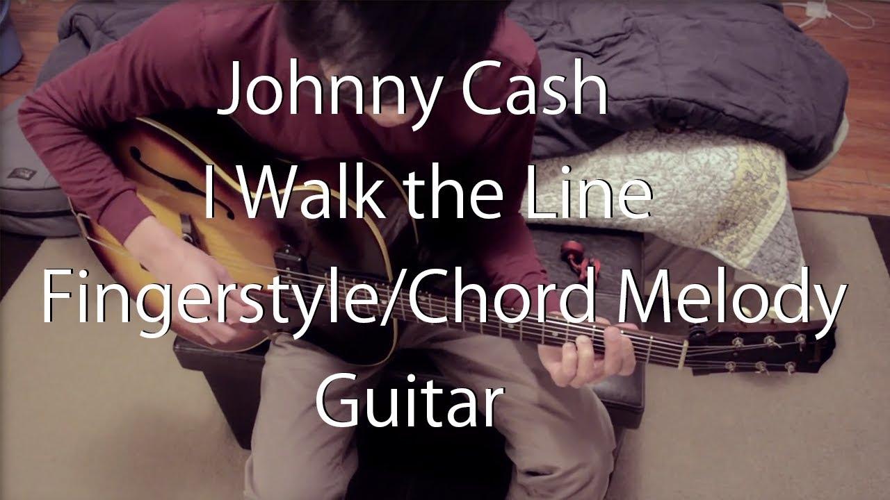 Johnny Cash I Walk The Line Guitar Cover Fingerstyle Guitar