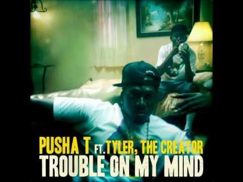 Trouble On My Mind - Pusha T (feat. Tyler, The Creator) [LYRICS in Description]