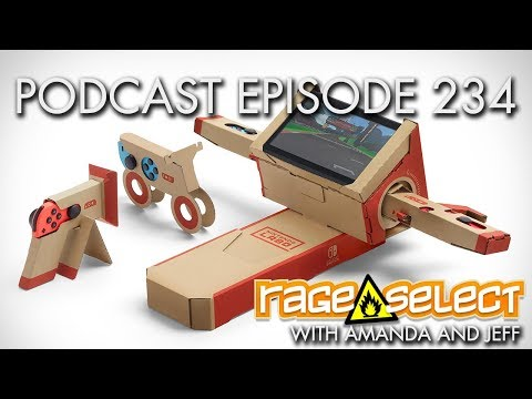 The Rage Select Podcast: Episode 234 with Amanda and Jeff!