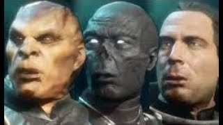 Mortal Kombat 11 All Characters Unmasked / Face Revealed MK11
