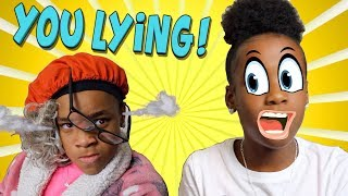 WHEN YOUR MOM KNOW YOU LYING! ( KIDS SKIT)