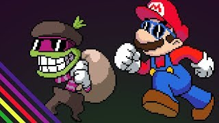 Popple Battle 8-BIT - Mario & Luigi: Superstar Saga