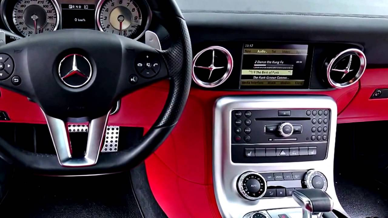 2017 Mercedes Benz SLS AMG Interior and Exterior - YouTube