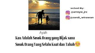 Titip Rindu Buat Ayah Quotes