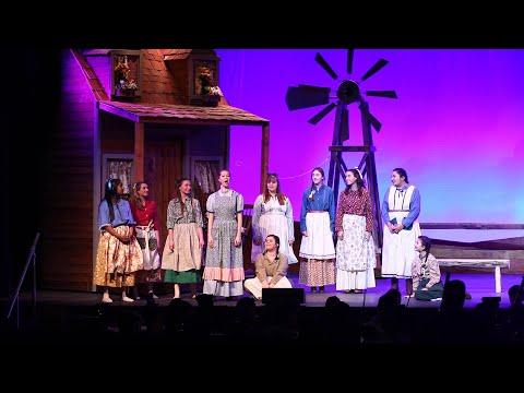 Easton Area High School rehearse 'Oklahoma'