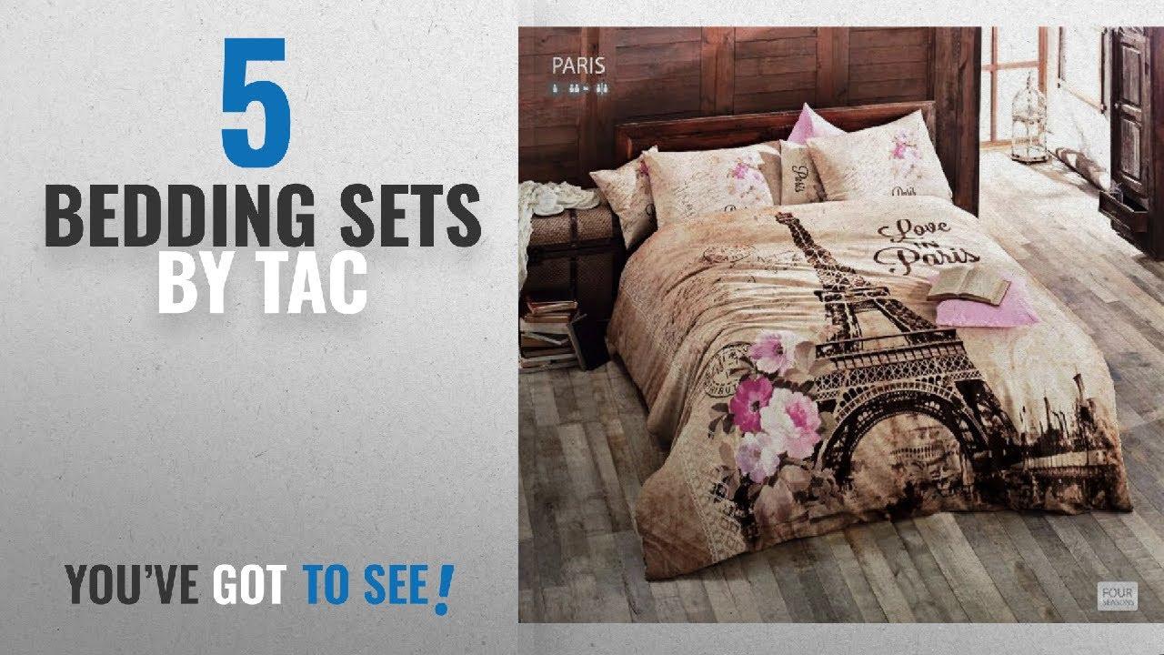 dc6f3a3e0d02ef Top 10 Tac Bedding Sets [2018]: 100% Turkish Cotton Ranforce Paris ...