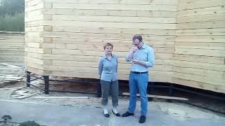 Видео отзыв дом из бруса с эркером(, 2016-05-16T10:05:04.000Z)