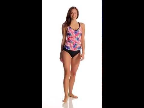 Jag Catalan Beach Underwire Tankini Top (D/DD Cup)   SwimOutlet.com