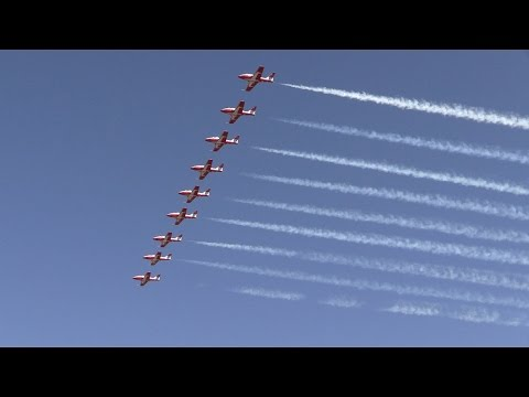 Canadian Forces Snowbirds .. California Capital Airshow 2015