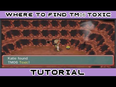 Where to find TM06 Toxic - Pokemon ORAS