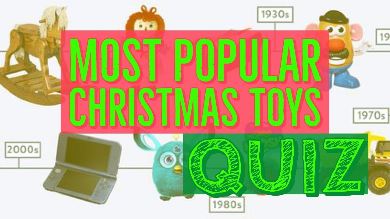 Most Popular Christmas Toys Quiz