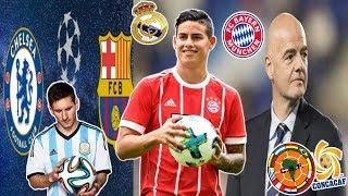 OFICIAL! BAYERN compra a James | Messi podrá con CHELSEA? | CONMEBOL y CONCACAF juntas?