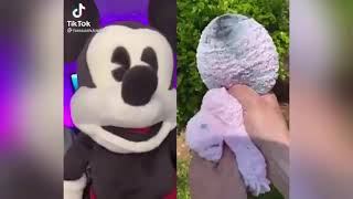 Mickey Mouse REACTS on Tiktok Compilation Part 2 (@HassanKhadair)