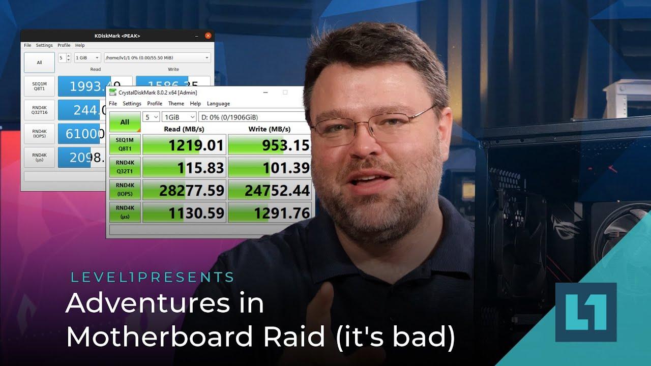 Adventures in Motherboard Raid (it's bad)