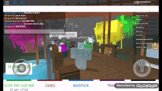 Roblox/case clicker/I back