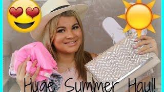 HUGE SUMMER CLOTHES HAUL! | Debenhams, River Island, Boohoo and MORE!!