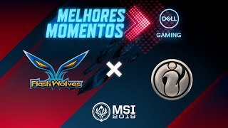MSI 2019: Fase de Grupos - Dia 3 | Melhores Momentos FW x IG (By Dell Gaming)