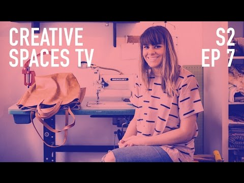 Jen Moulton - Designer & Maker of Jewelry, Pottery and Leather Goods | EP.7 Creative Spaces TV