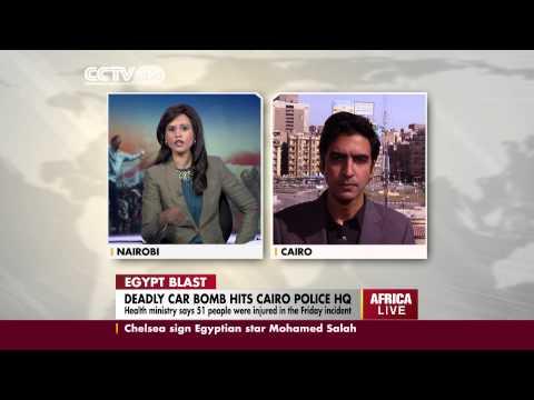 CCTV Egypt correspondent talks on Cairo bomb explosion