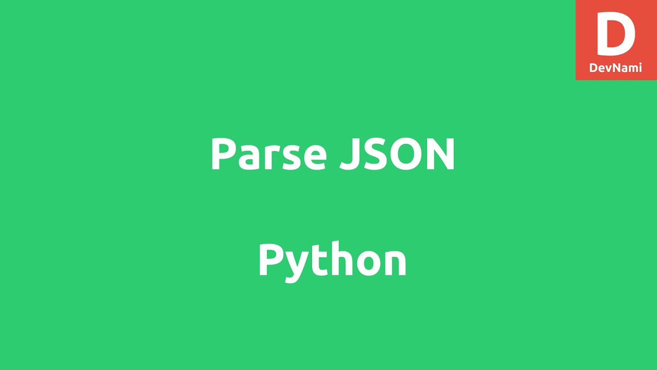 parsing json in python