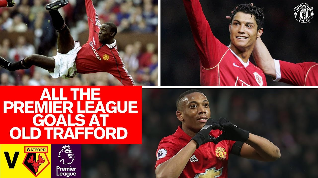 Every Premier League Goal At Old Trafford v Watford | Manchester United | Ronaldo, Rooney, Martial thumbnail