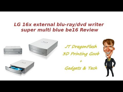 LG 16x external blu-ray/dvd writer super multi blue be16 Review