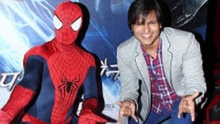Vivek Oberoi at 'The Amazing Spiderman 2' Hindi Trailer Launch | Jamie Foxx |
