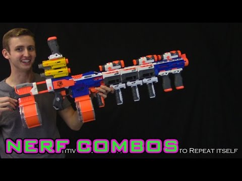 NERF COMBOS - STRYFE