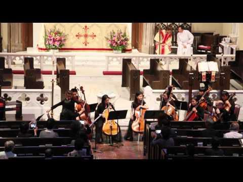 Orange County Cello Ensemble @St. James Church, LA