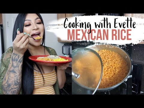 Cooking With Evette: The Perfect Mexican Rice
