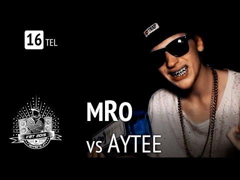 mRo vs Aytee feat.  Felikz & Scumgod HR | VBT 2015 16tel-Finale