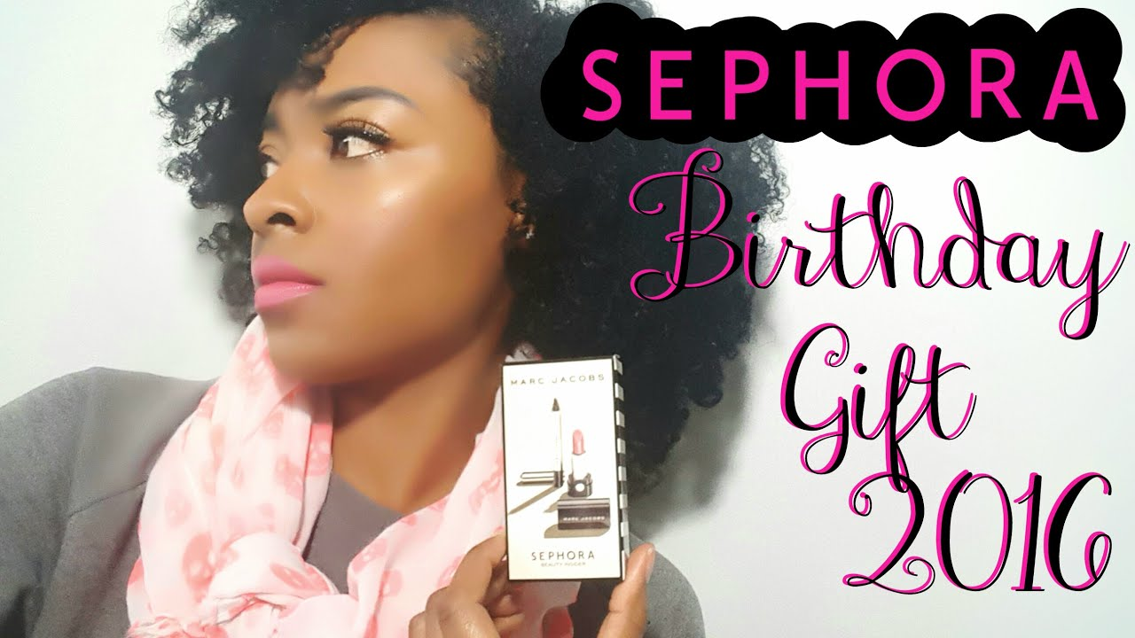 how to add your birthday gift on sephora