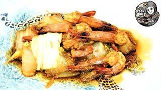 【中華】車海老と白菜の煮込み【Chinese food】Shrimp and Chinese cabbage stew(ラファエルクッキング Raphael cooking)