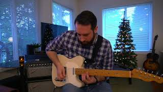 Rocking Around The Christmas Tree - Electric Guitar Part