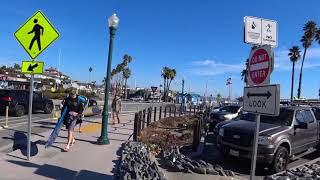 Санта Круз - на пирс идем и глазеем по сторонам