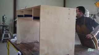 책상만들기 (자작합판으로 단순한 책상만드는 과정)  M…