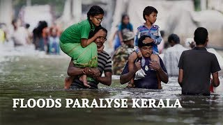Kerala Floods 2018 | Kerala Paralysed by Floods | Kerala Floods Affected Areas thumbnail